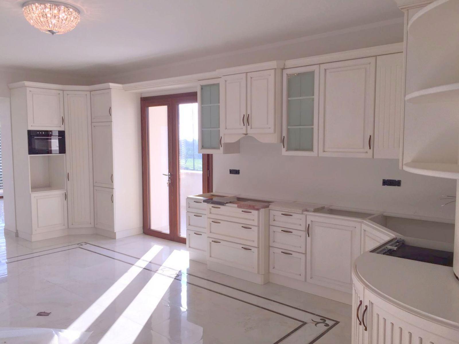 Cucina Ciliegio E Panna cucine in legno milano - falegnamerie milano
